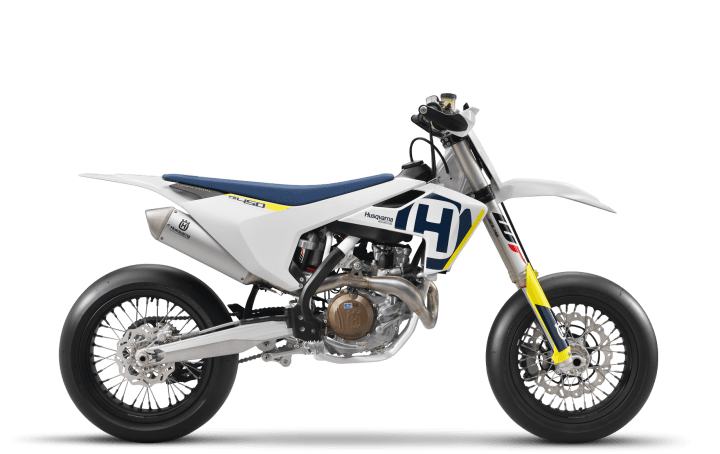 Husqvarna announces FS450 supermoto