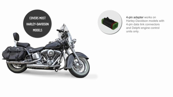 Motorscan adapter can check your Harley-Davidson's engine codes