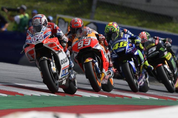 Race report: Austrian MotoGP