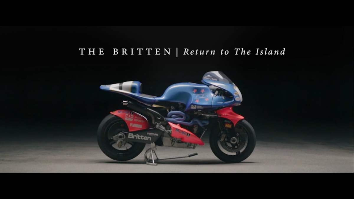 Video: John Britten's bikes vs. the Isle of Man TT