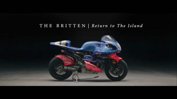 Video: John Britten's bikes vs. the Isle of Man TT