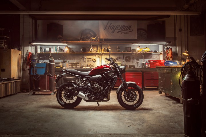 The Yamaha XSR700 is coming to Canada