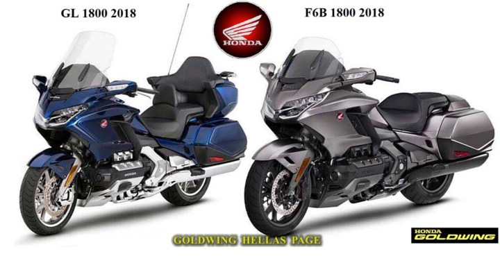 Spied! Honda is working on a new Gold Wing, F6B