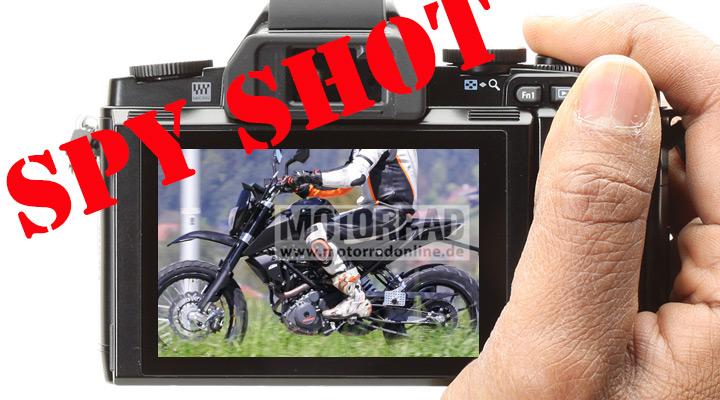 Spied! KTM 390 adventure bike