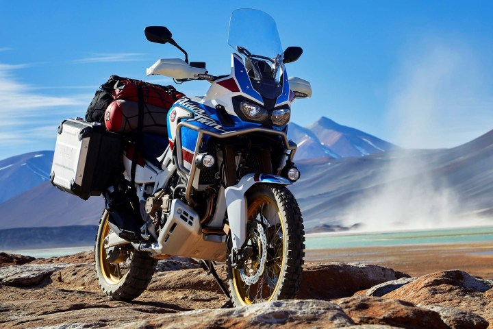 Here's the Honda Africa Twin Adventure Sport