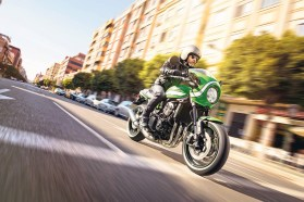This Winter Youll Get Your Own Chance To Sit On A Kawasaki Z900 RS At The Local Motorcycle Show