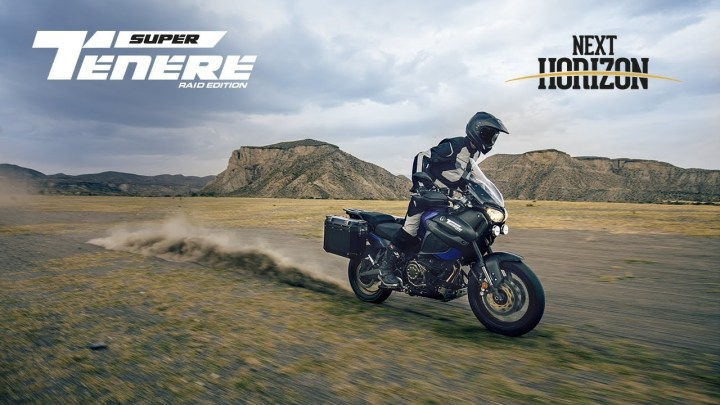 More of the same: Yamaha Super Tenere Raid Edition