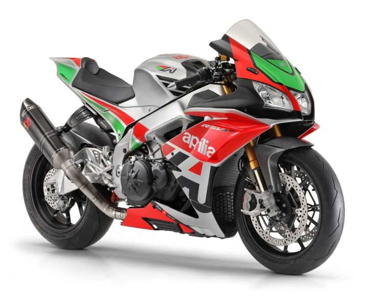 Aprilia Racing Factory Works kit now available for RSV4