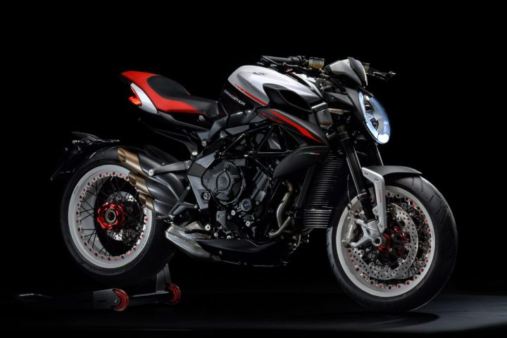 MV Agusta hangs tight with Dragster 800 RR