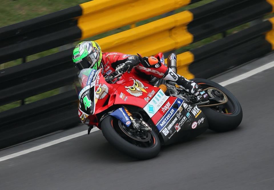 Glenn Irwin wins Macau GP