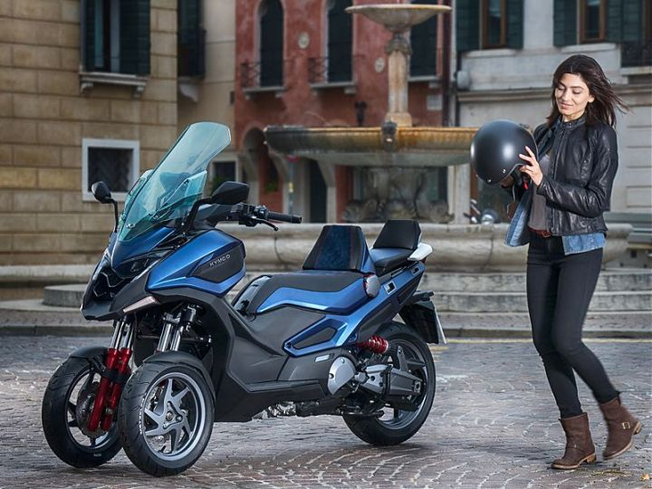 Kymco CV3: Another take on the leaning three-wheeler