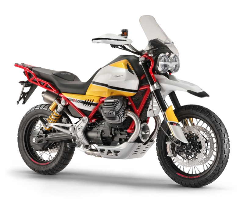 Report: Moto Guzzi V85 adventure bike is getting closer