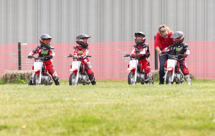 My son, the Junior Red Rider