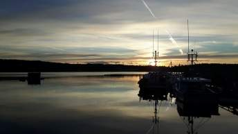 Daybreak in Dipper Harbour. You'll have to leave Saint John early in the morning for this view, but it's one of the finest in the province. Photo: Zac Kurylyk