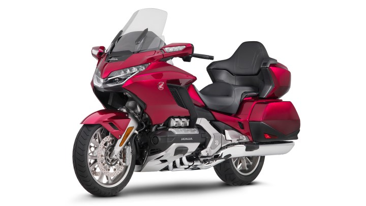Honda updates Gold Wing nav software, says another update is coming