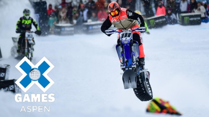 Canadian riders bring home X Games gold, silver in snowcross
