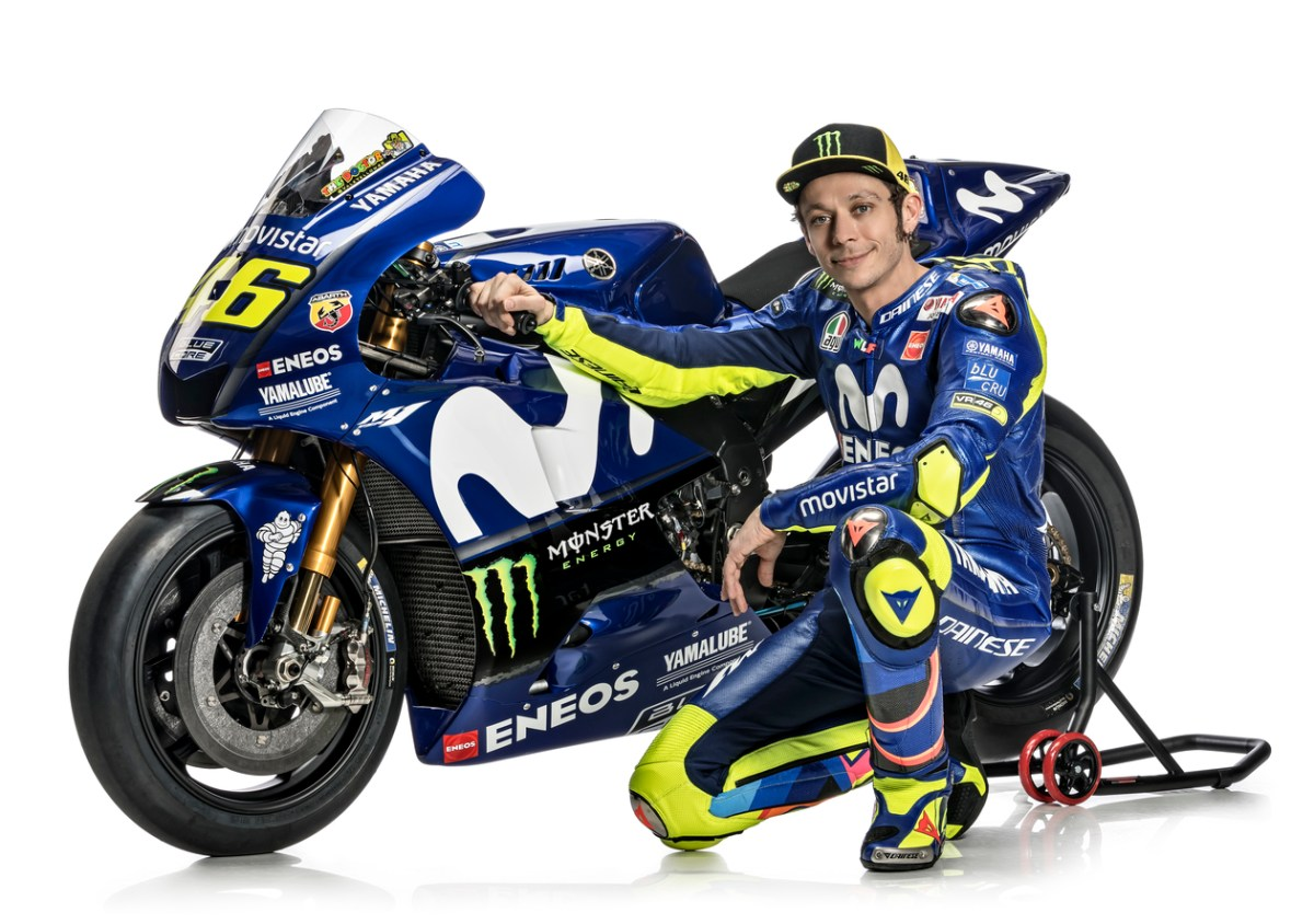 Rossi signs for two more years with Yamaha