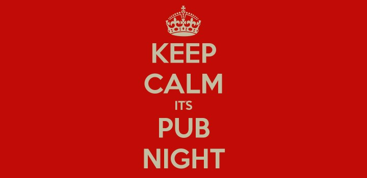 This weekend: CMG pub night!