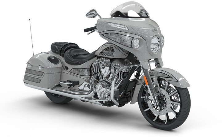 Indian unveils Chieftain Elite