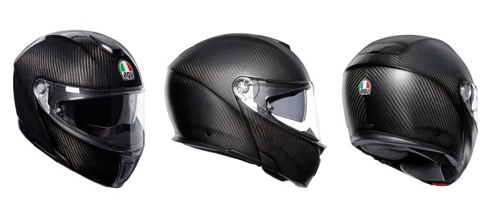 New all-carbon modular helmet from AGV
