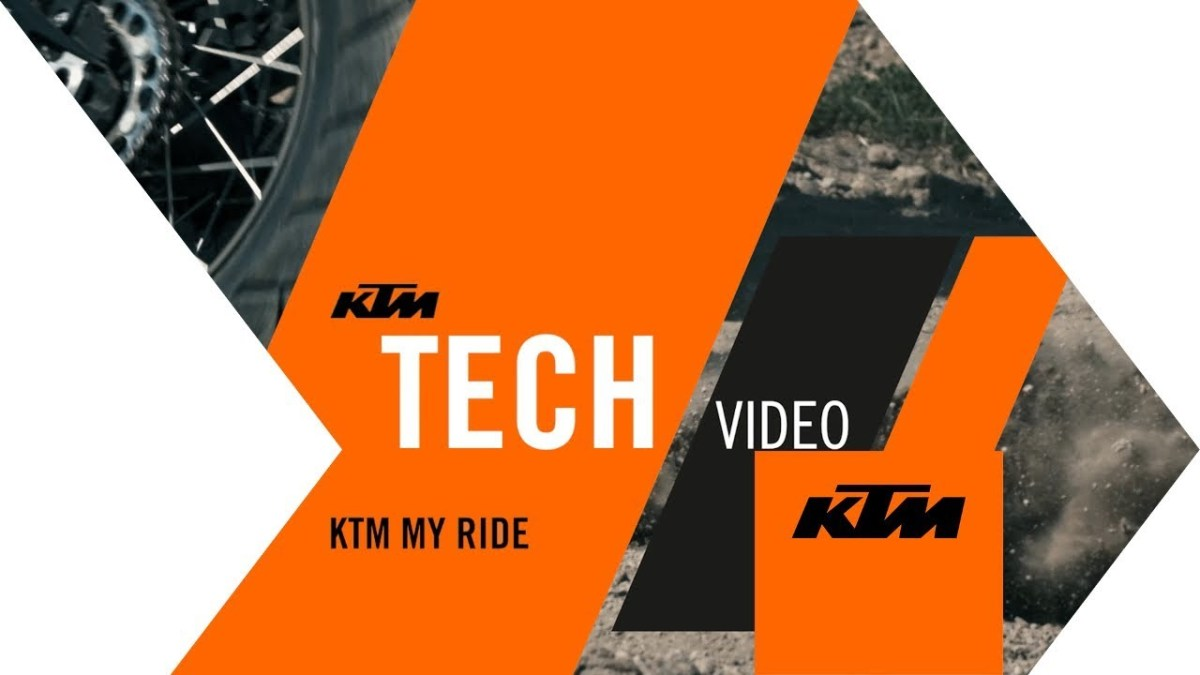 KTM MY RIDE app allows music streaming, navigation and more