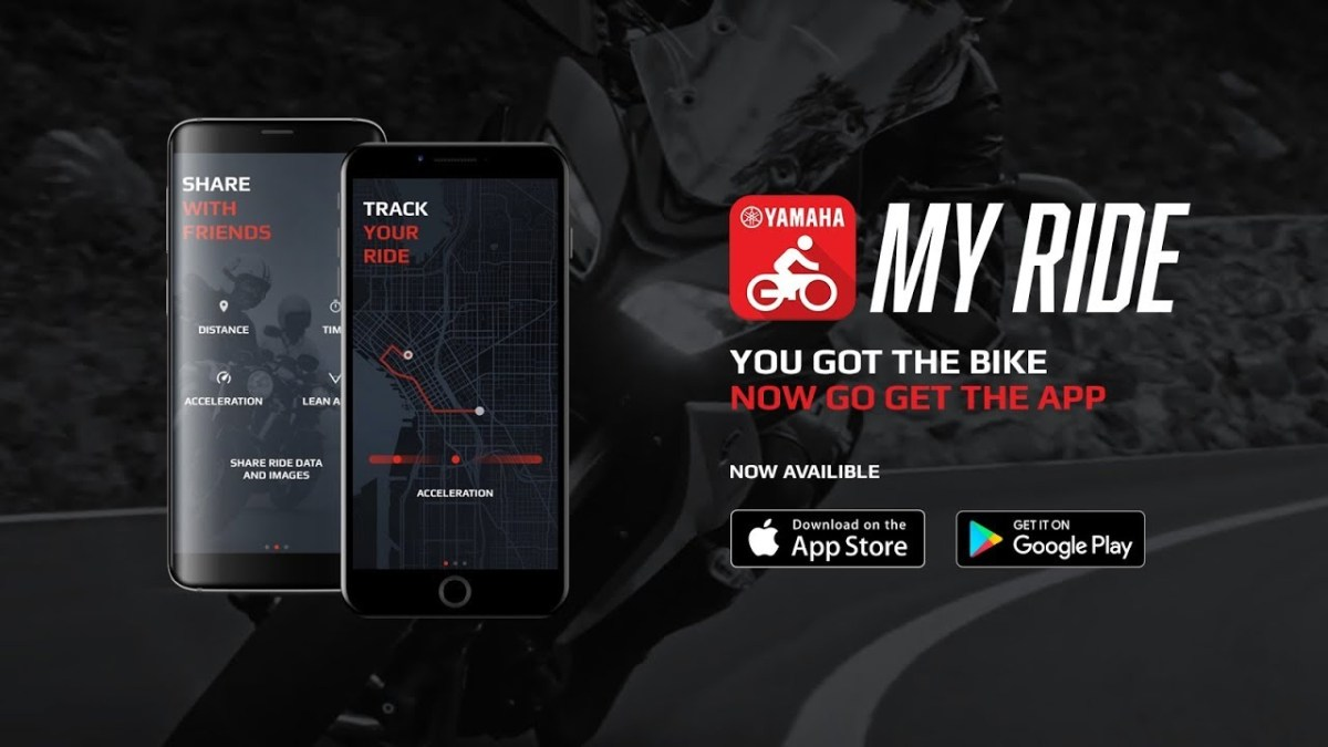 Yamaha MyRide app launches