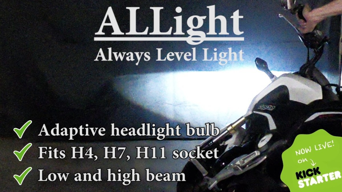 ALLight offers drop-in cornering headlights for your bike