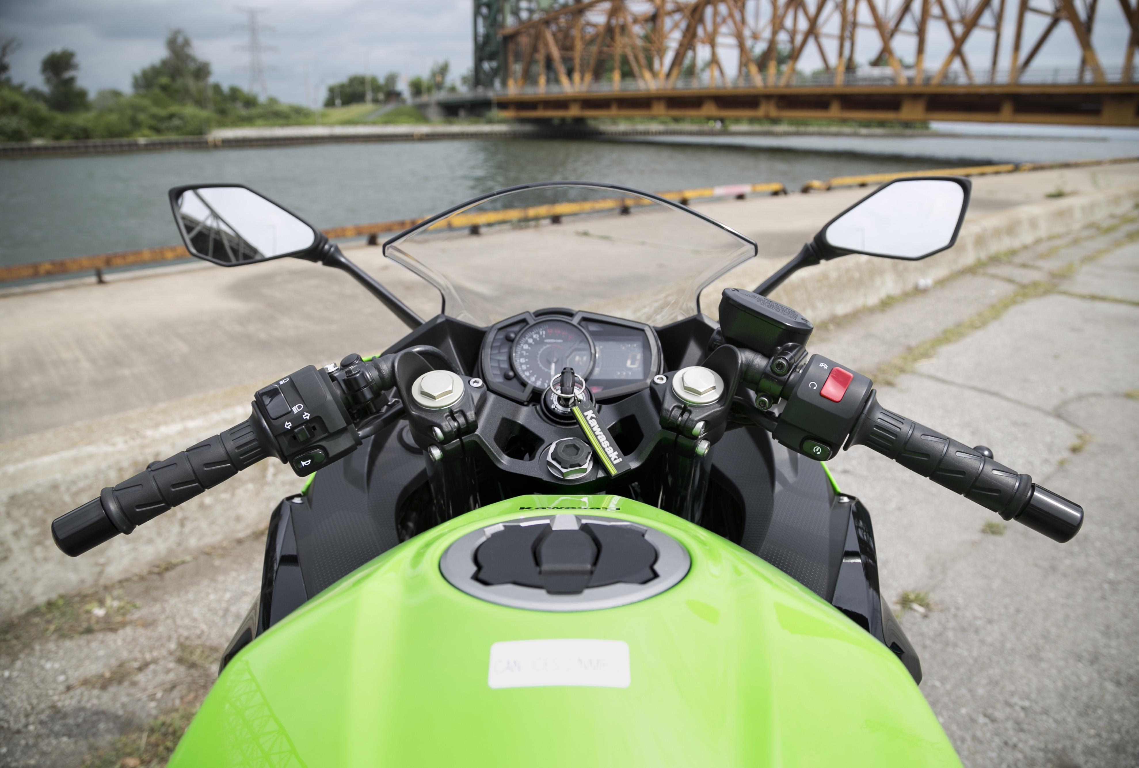Test Ride 2018 Kawasaki Ninja 400 Canada Moto Guide