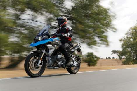 The R1250 GS moves BMW's adventure lineup boldly into the future, with the new Shiftcam engine.