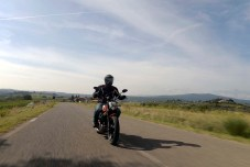 If you're going to ride a Ducati Scrambler, what better place than the scenic roads of Tuscany?