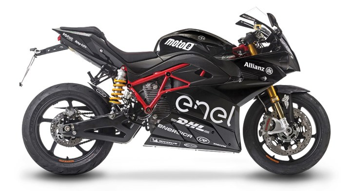 Updated Energica Ego shown at Intermot