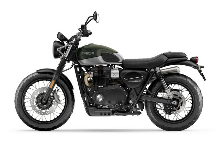 Triumph Street Scrambler: More power for 2019