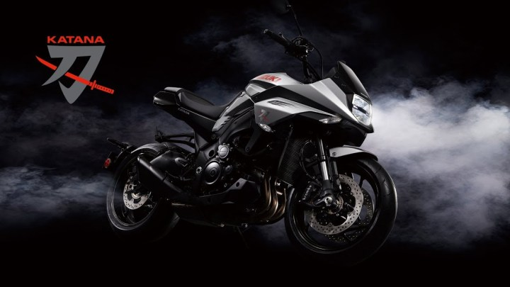 Suzuki unveils all-new Katana