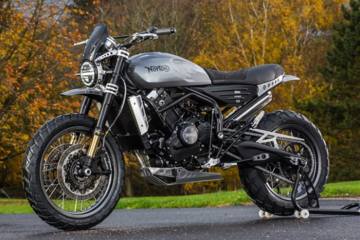 Norton reveals Atlas Nomad, Ranger models