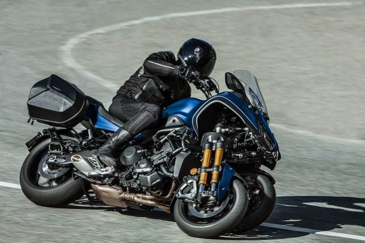 Yamaha Niken GT photo gallery: 31 photos of the new tourer