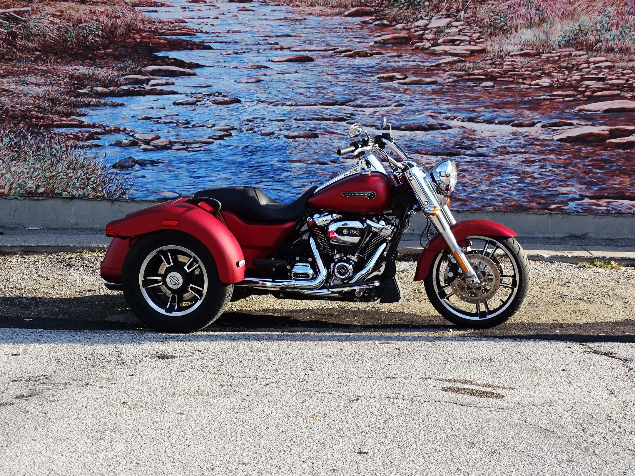 Test Ride  2018 Harley