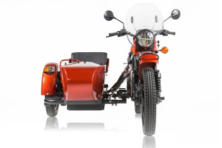 Ural's sidecar rig - and electric, too.
