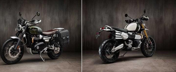"Triumph Scrambler 1200 gets ""Inspiration Kits"" for further customization"