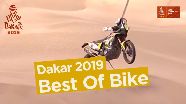 Video: Here are Dakar's 2019 motorcycle highlights