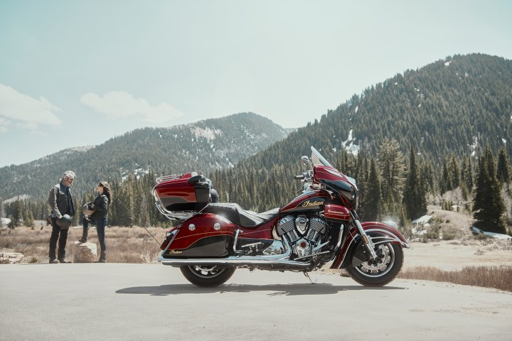 New Roadmaster Elite is most expensive production Indian yet