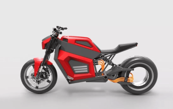 RMK E2 electric concept shows intriguing motor design
