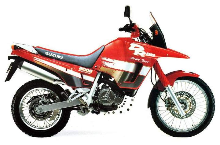 Rumour: Suzuki is building a new DR Big