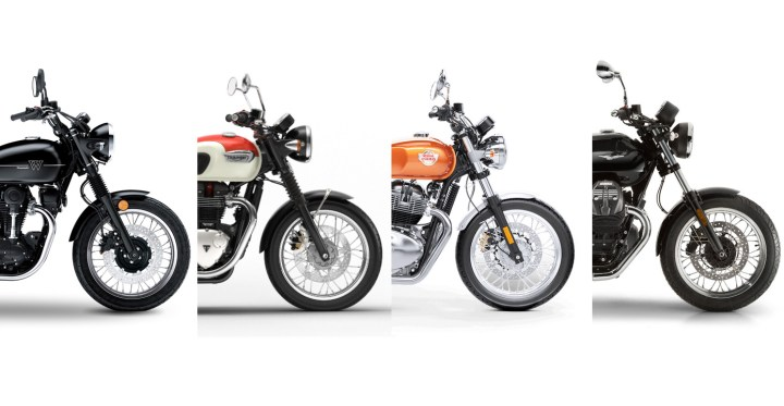 Showroom Showdown: Classic Bike Clash!