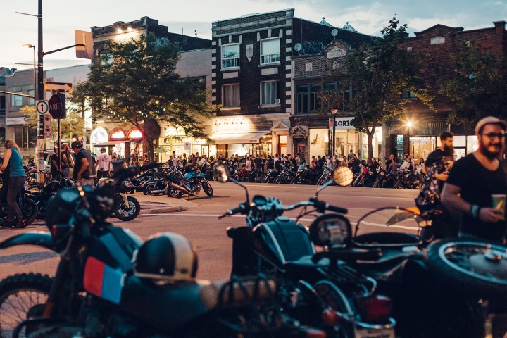 The Moto Social's monthly meets