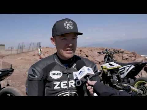 The sights (and horrible sounds) of an electric motorcycle at Pikes Peak