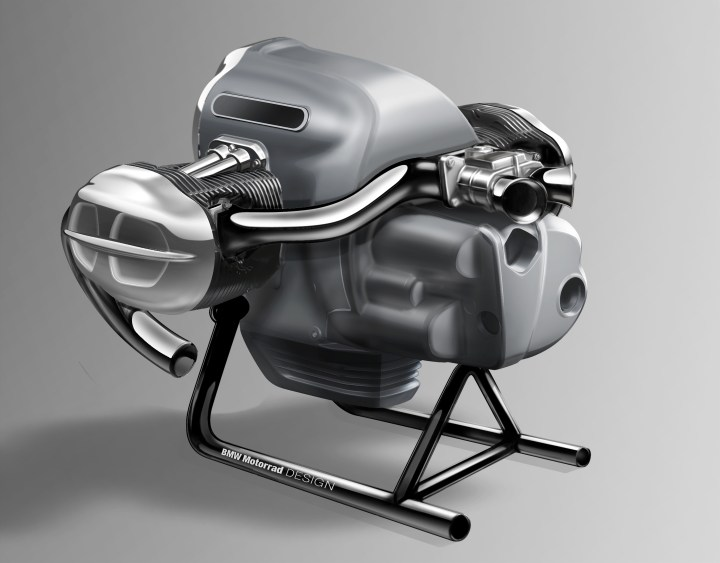 BMW will introduce R18 cruiser in April