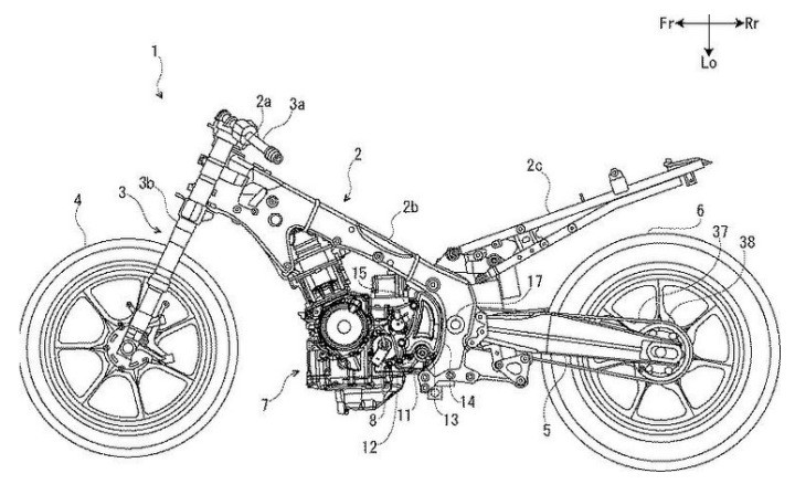 Spied! Another updated Hayabusa patent