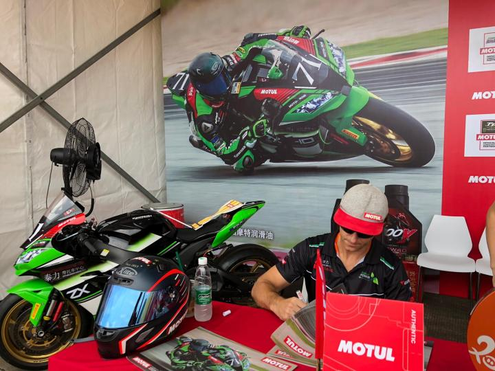 Dan Kruger ends up second overall in China Superbike Championship