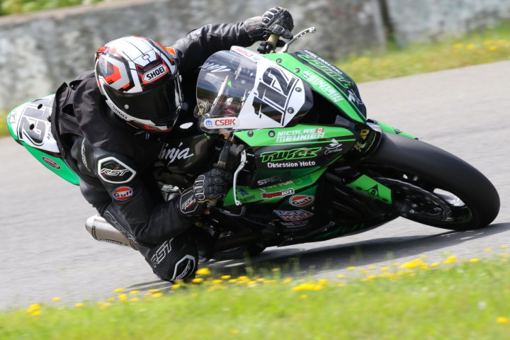 Nicolas Meunier bags CSBK's Pro Rookie of the Year