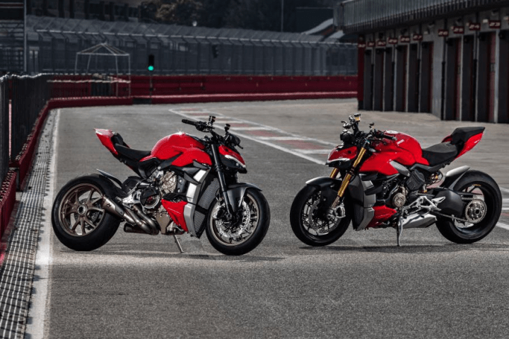 The new Ducati Streetfighter V4 offers mad power